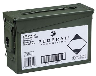FED M193 556NATO 55GR FMJ 420RD CAN
