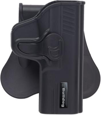 Bulldog RRSWMPS Rapid Release S&W M&P Shield Polymer Black