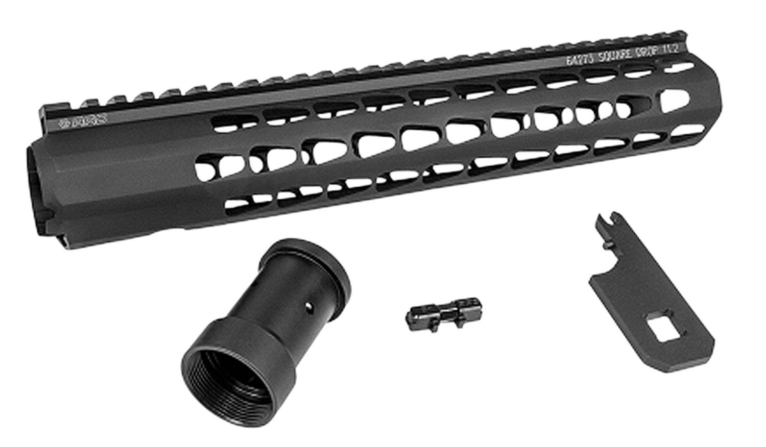 Advanced Armament 64273 Squaredrop Ar- 15 Aluminum Black/Anodized