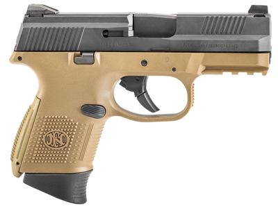 FN FNS-9C 9MM 2-10RD FDE/BLK