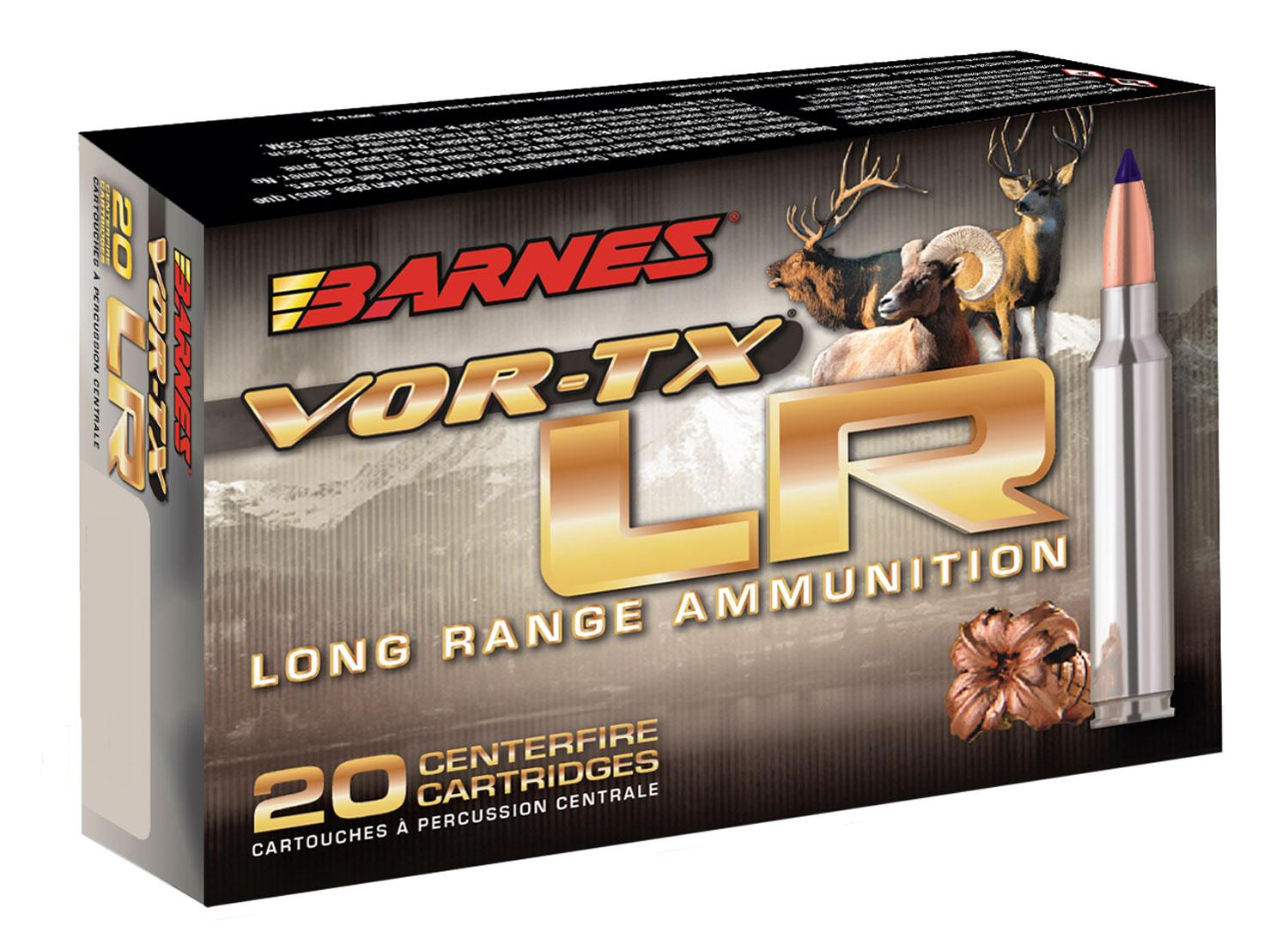 Barnes Bullets 29061 Vor- Tx 338 Remington Ultra Magnum (Rum) 250 Gr Lrx Boat Tail 20 Bx/10 Cs