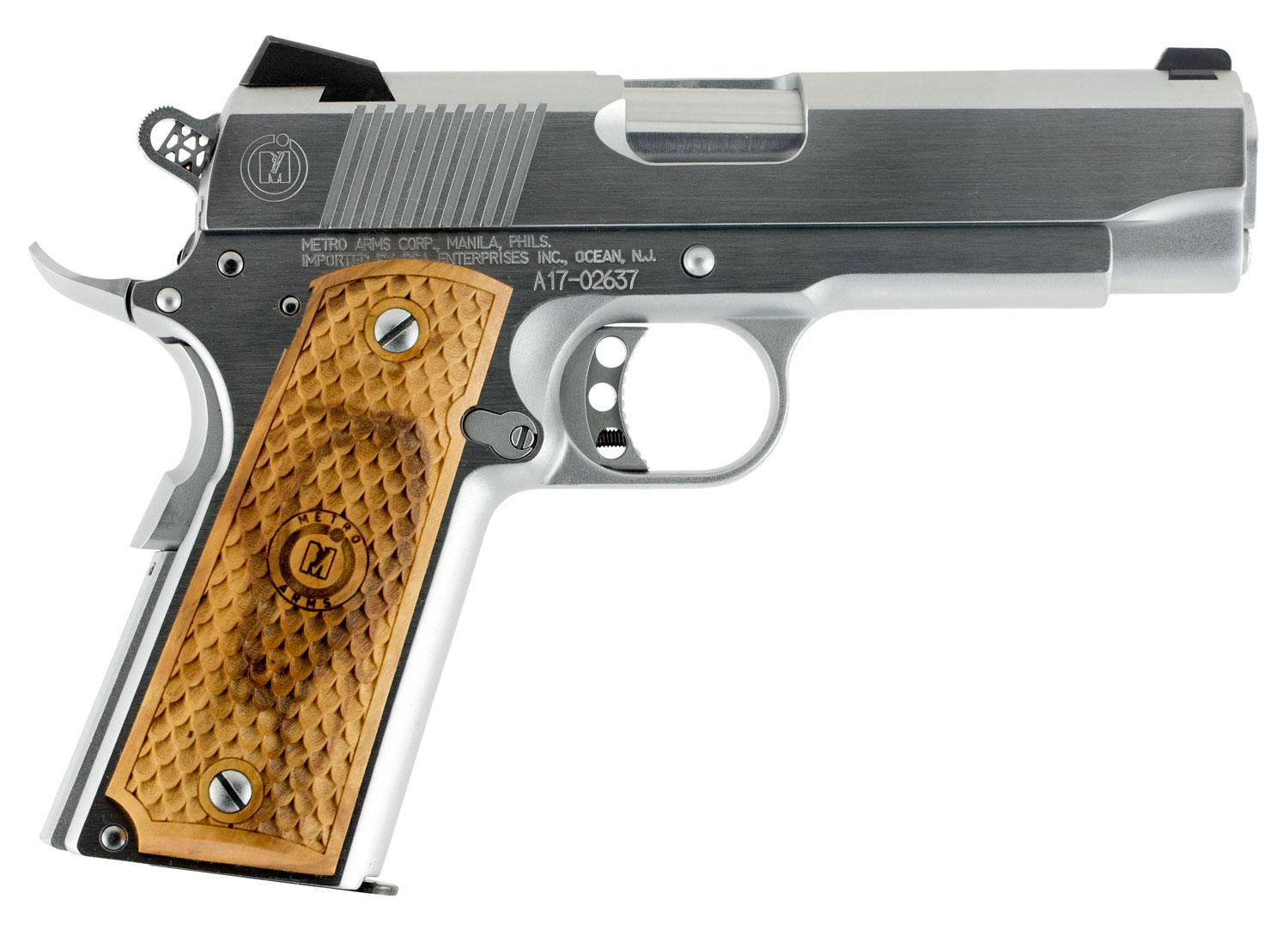 American Classic Acc9c 1911 Classic Commander Sa 9mm Luger 4.25