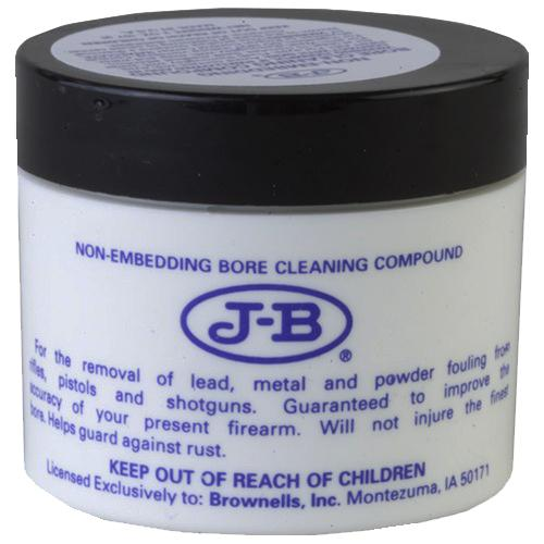 Brownells 083066012 J- B Bore Compound Bore Cleaner 2 Oz Jar