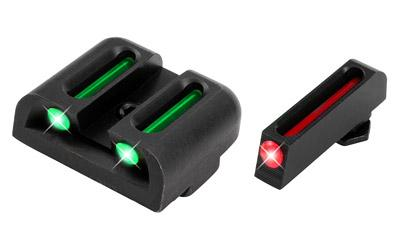 Truglo TG131G2 Brite-Site Fiber Optic Glock 20/21/29/30/31/32/37 Fiber Optic Green/Red Black