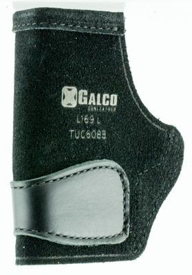 Galco TUC608B Tuck-N-Go Inside the Pants SIG P238 Black Steerhide
