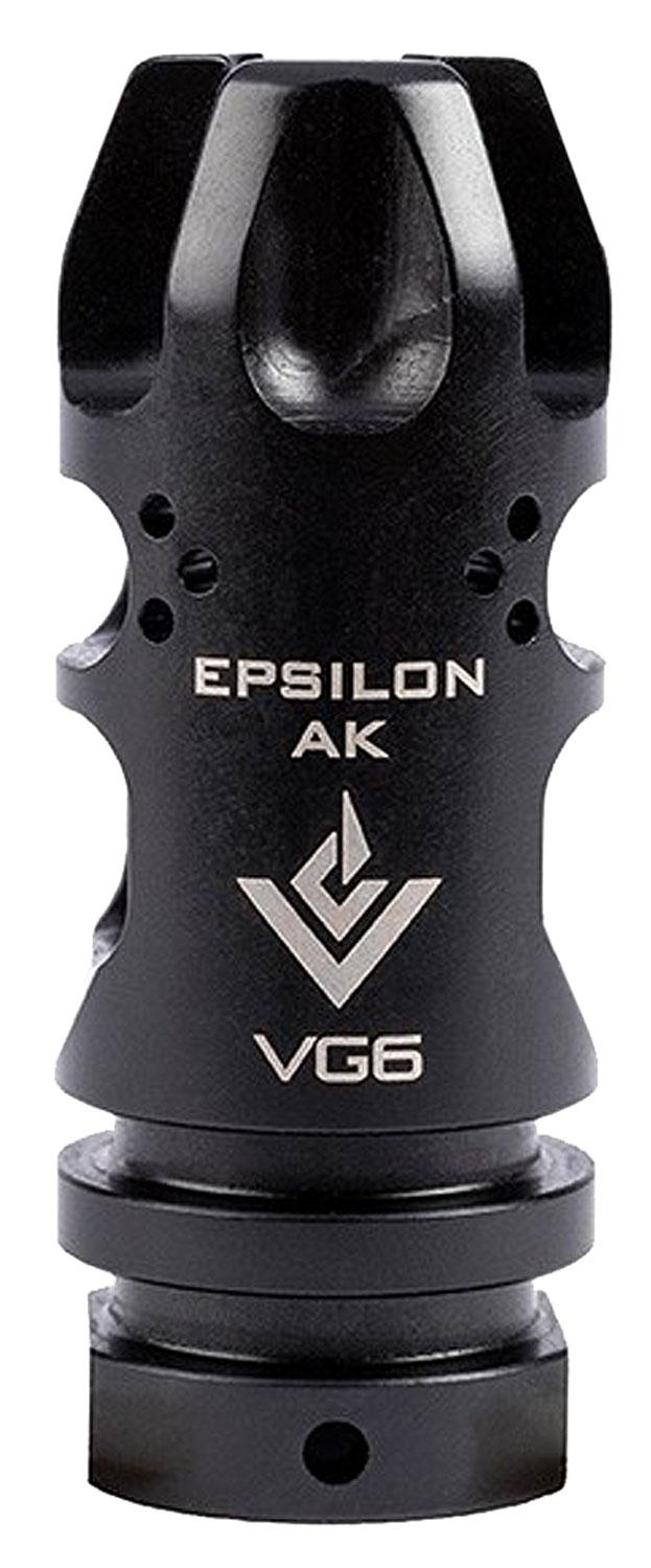 Aero Precision Apvg100004a Vg6 Epsilon 556 Muzzle Device Mb/Fh Ar- 15 5.56mm/223 Remington 17- 4 Stainless Steel Black Nitride Finish