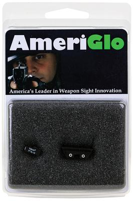 AmeriGlo GL121 Classic Night Sights For Glock 45/10 Green Front/Yellow Rear