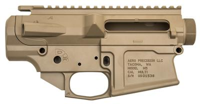 Aero Precision APCS100015 M5 Stripped Receiver Set M5 308 Winchester/7.62 NATO Flat Dark Earth Cerakote