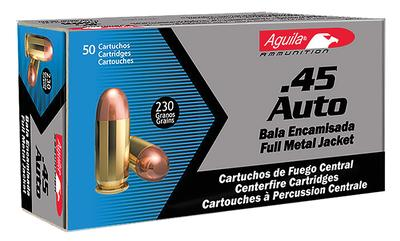Aguila 1E452110 45 ACP 230 GR Full Metal Jacket 50Bx/20Cs