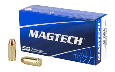 Magtech 40B Sport Shooting 40 Smith & Wesson (S&W) 180 GR Full Metal Jacket Flat Nose 50 Bx/ 20 Cs